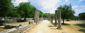 Ancient Olympia - Archaelogical site, Greece